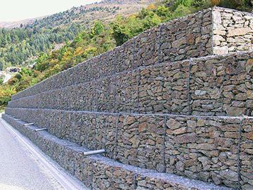 格宾网山体挡墙