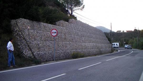 格宾网公路挡墙