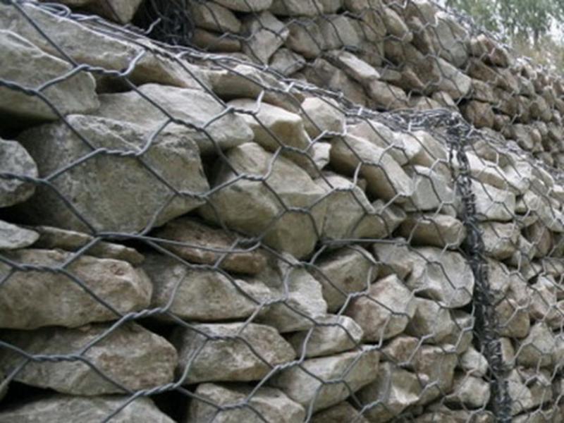 蜂巢格网挡墙