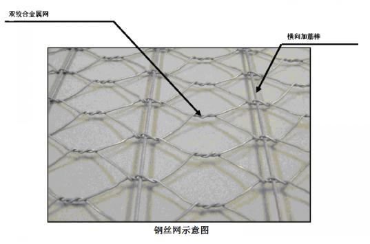 沥青路面钢筋网示意图