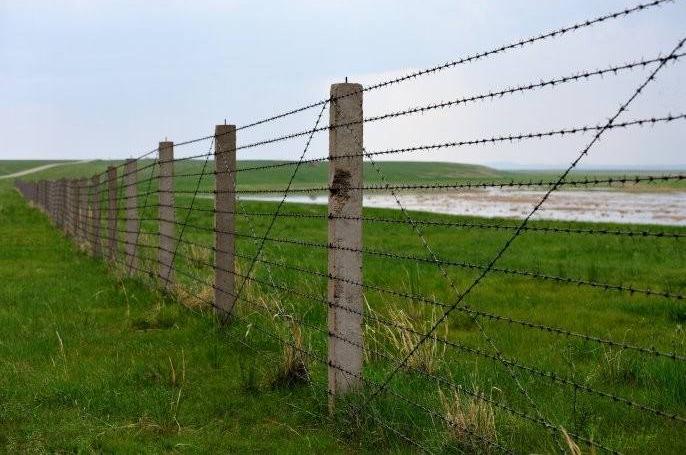 边境用带刺铁丝网