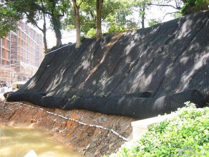 河岸护坡加筋麦克垫