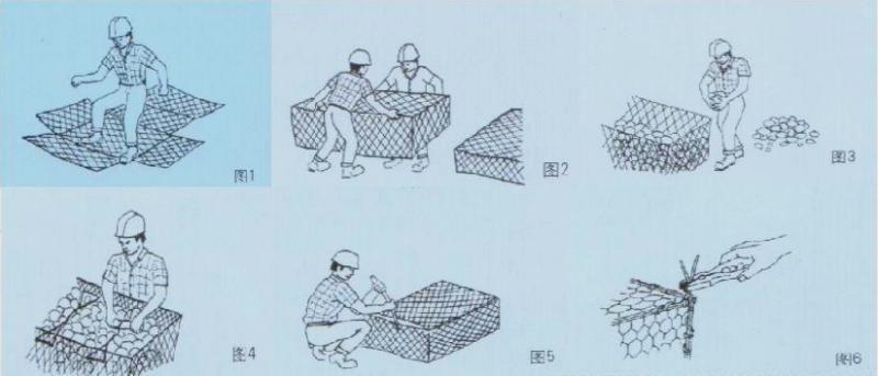 格宾石笼施工指南