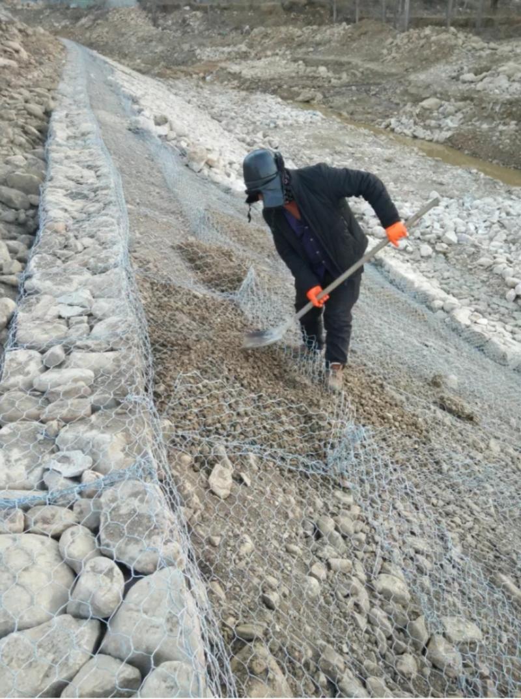 垫状铅丝笼护坡